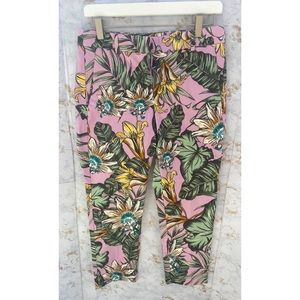 J.Crew Floral and Plant Pants 6